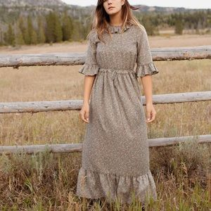 Christy Dawn The Constance Dress In Sage Floral